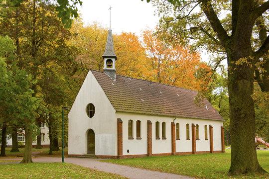 Die Kapelle im Stadtpark in Langenhagen