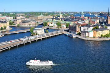 Central part of Stockholm