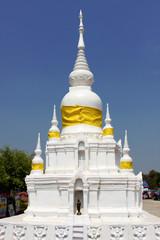 Worship, Miniature of Nadun pagoda, Mahasarakam.