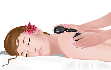 massaggio con pietre laviche 2