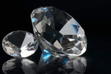 two crystals