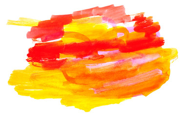 Color spot, watercolor abstract hand painted background