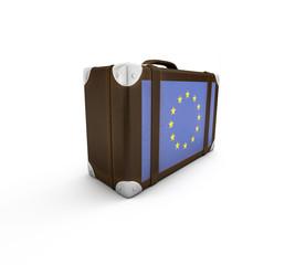 Reisen nach .. Europa (mit Freistellungspfad)