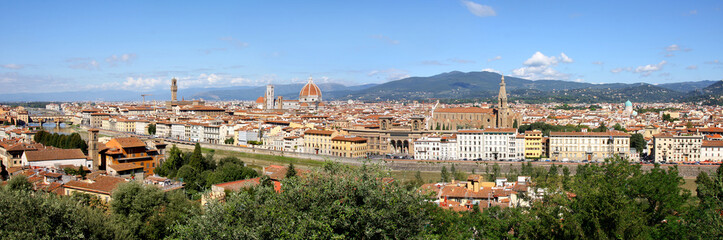 Panorama of Florence cathedral,Tuscany, Italy