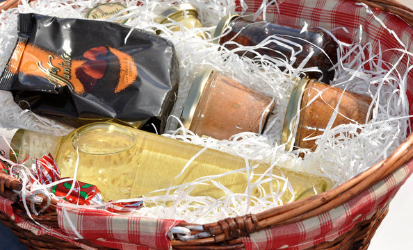 panier garni gourmand produits du terroir