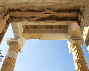 Detail of the Propylaea, Acropolis, space for type