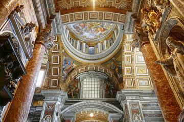 Interior of St Peter's Basilica