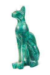 stone statue of  cat