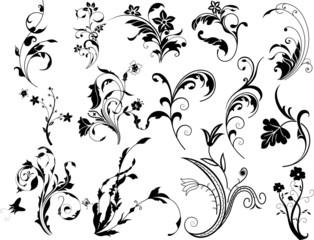 Corners Floral Design Elements
