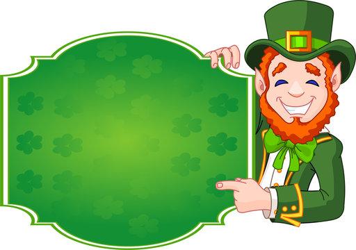 St. Patrick's Day Lucky Leprechaun