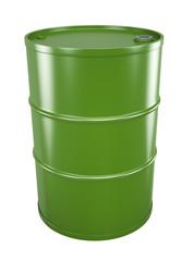 Green oil barrel