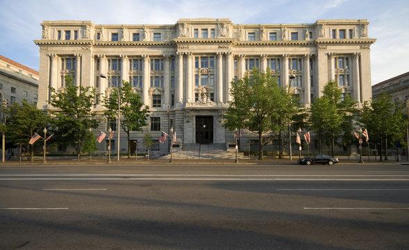 Beaux Arts Wilson Building City Hall Washington DC