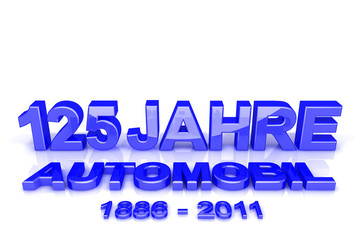 125 Jahre Automobil