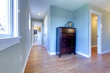 Hallway from bedroom to the bathroom