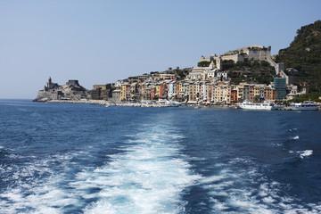 Leaving Portovenere, Cinque Terre