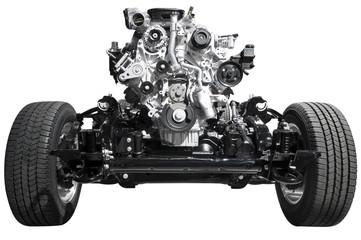 Drive Axle and Engine