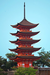 pagoda giapponese