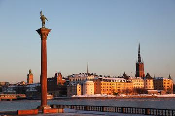 Insel Riddarholmen Stockholm