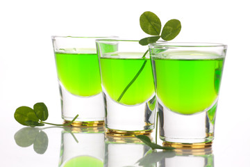 St Patrick's Day shot