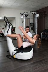 Training im Fitnesstudio