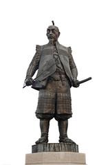 Statua bronzea generale giapponese 01