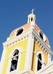A Church Spire in Granada Nicaragua