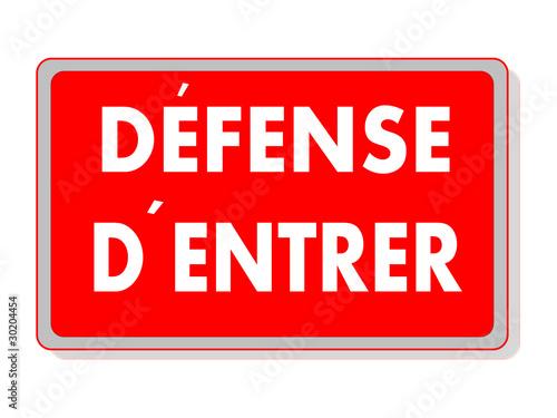 panneau defense d 39 entrer photo libre de droits sur la banque d 39 images image 30204454. Black Bedroom Furniture Sets. Home Design Ideas