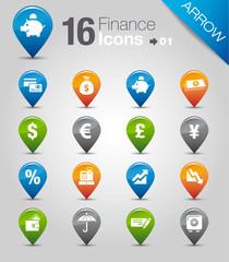 Arrow - Finance icons 01