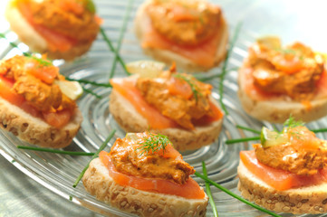 smoked salmon appertizers