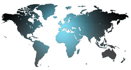 Obraz Mapa - fototapety do salonu