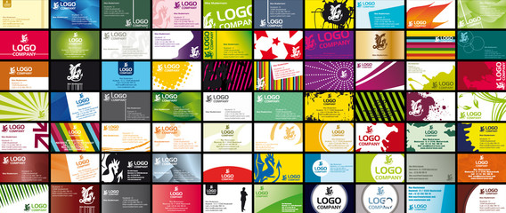 70 Various Business Card Templates