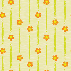 flowers abstract seamless background pattern