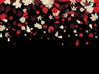Autumn retro background. EPS 8