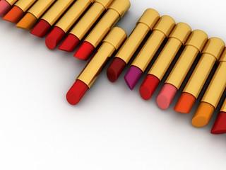 Colored Lipstick