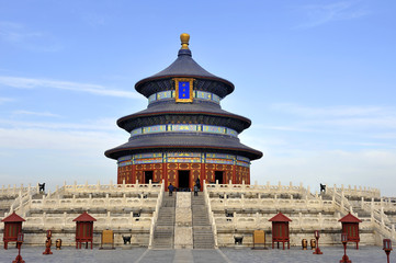 The Imperial Vault of Heaven in the Temple of Heaven in Beijing,