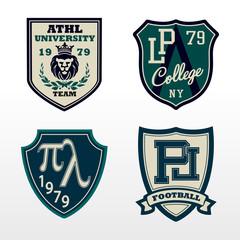 University Athletic Crest patch