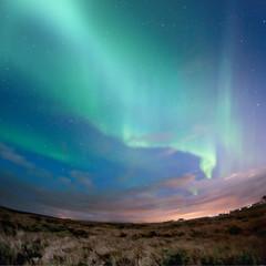 Tuinposter Noorderlicht Aurora Borealis (Northern Lights)