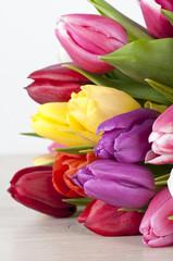 Farben machen spass-Tulpenstrauss