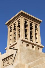 Wind tower in Dubai