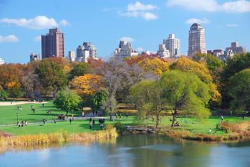 Fotobehang Chicago New York City Manhattan Central Park