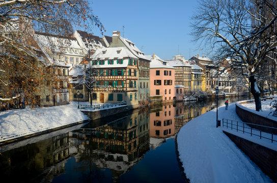 Hiver à Strasbourg