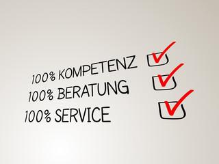 Kompetenz - Beratung - Service