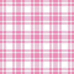 Seamless Pattern Check Pink