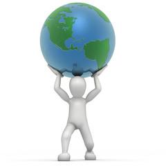 Kiko Levantando la Tierra