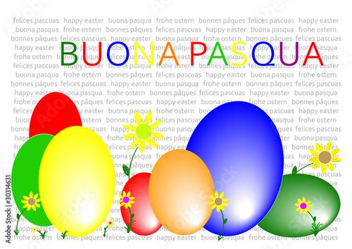 Frohe Ostern Italienisch Stockfotos Und Lizenzfreie Vektoren Auf