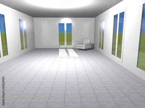 Arredamento minimalista immagini e fotografie royalty for Arredamento minimalista
