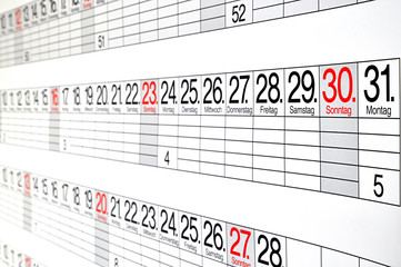 Kalender  #110228-037