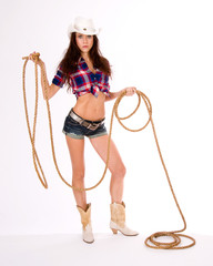 Girl with Lasso