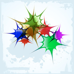 the vector abstract color background