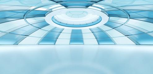Conceptual future style interior